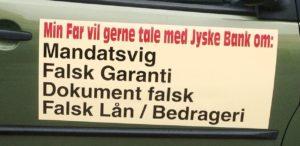 Jyske bank snyder kunder